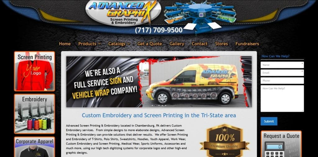 Advanced Graphix Screen Printing