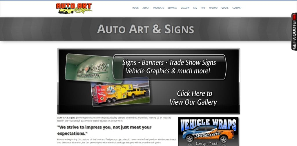 Auto Art And Signs